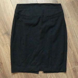 EXPRESS | Black Pencil Skirt